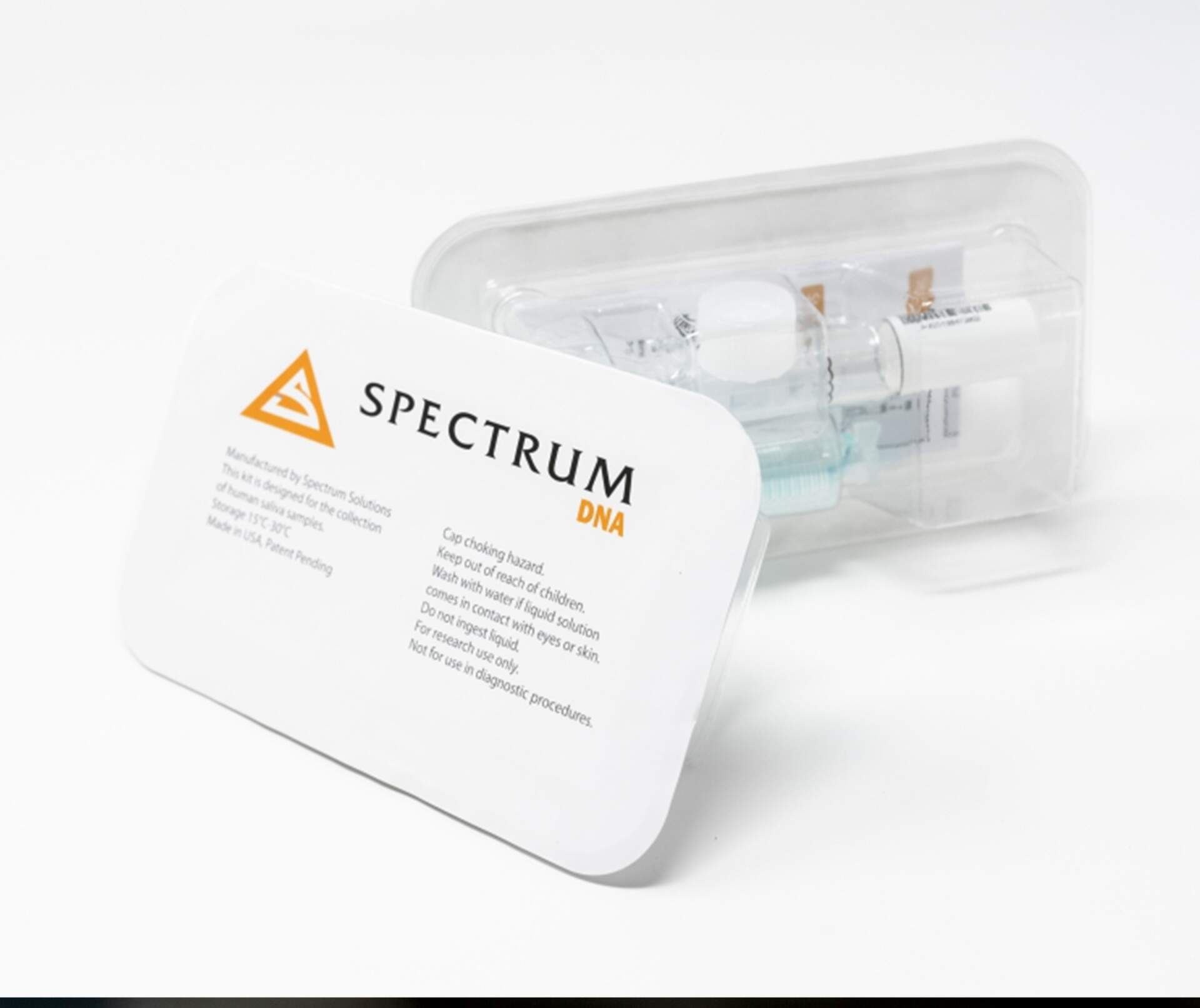 Spectrum DNA Whole Saliva DNA Collection Device - Product Development