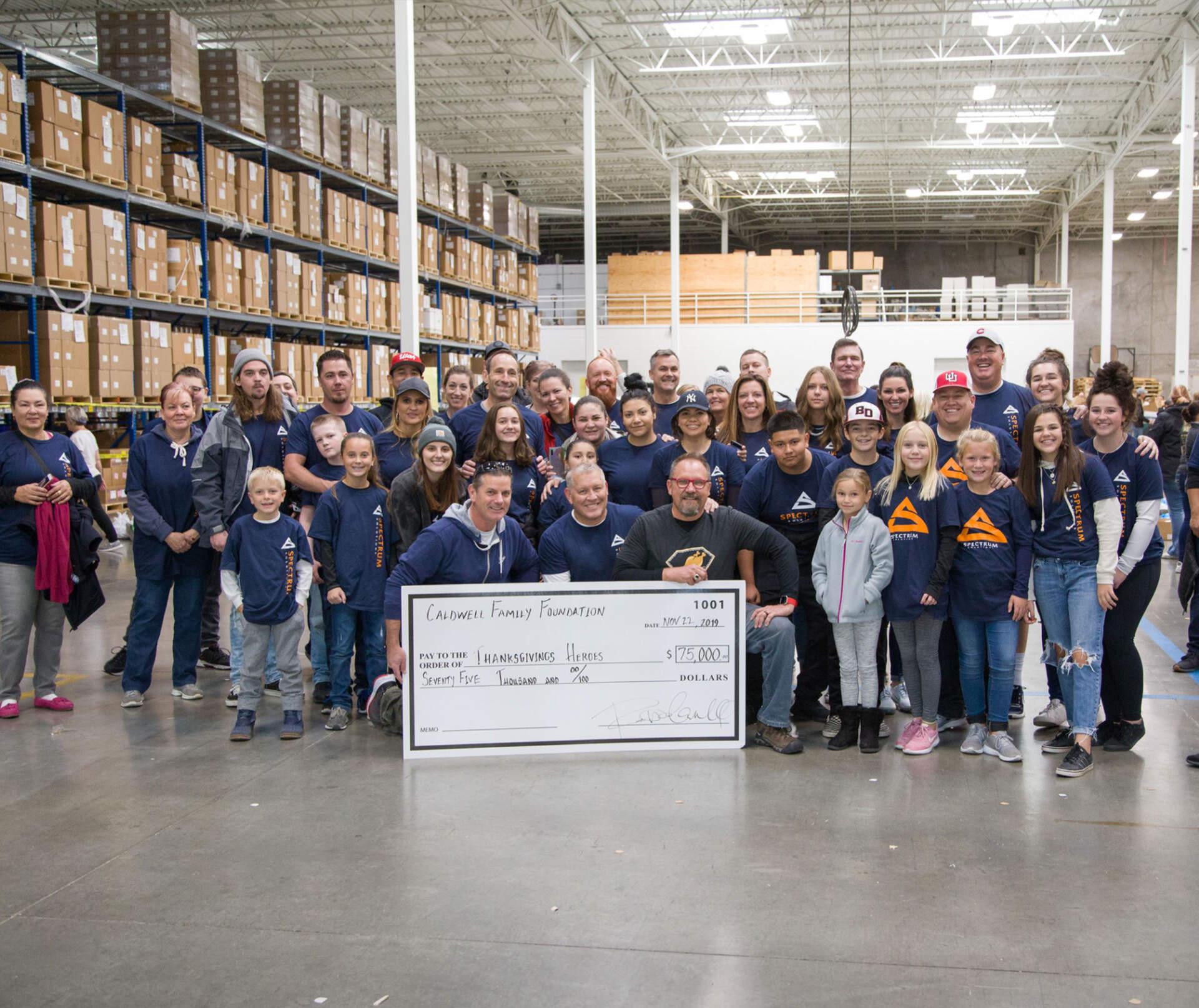 Thanksgiving Hero's 2019 Giving Back Event